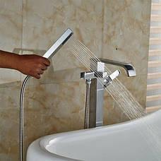 Смеситель для ванны REA CARAT хром, фото 3