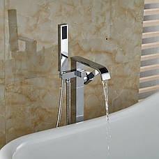 Смеситель для ванны REA CARAT хром, фото 2