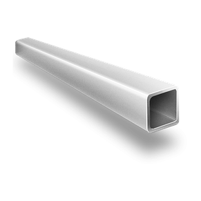 Алюминиевая квадратная труба 90х90х4 мм 6060 Т6 профиль АД31Т, экструзия, фото 2