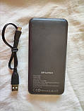 Power Bank Awei 10000 mAh 2*USB 5V 2,1A, 1A Fast charging, кабель USB - micro USB, универсальный аккумулятор, фото 2
