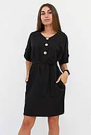 S, M, L | Жіноче вільне класичне плаття Monika, чорний