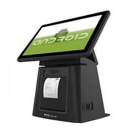 POS моноблок 11,6″ Selena Android со встроенным чековым принтером Сенсорный ПОС терминал для кафе