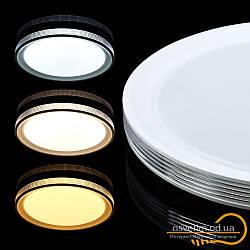 Сучасна світлодіодна люстра для спальні 80 ват&Biom SMART SML-R10-80 3000-6000K 80Вт з д/у