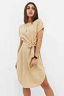 Вишукане повсякденне плаття Megan, бежевий