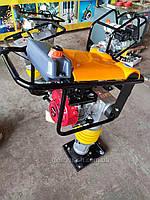 Вібротрамбовка бензинова HCR-100 (Honda GX-160). Вибронога, фото 1