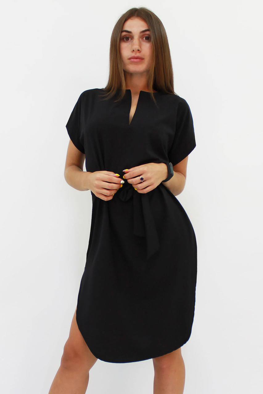 S, M, L, XL | Вишукане повсякденне плаття Megan, чорний