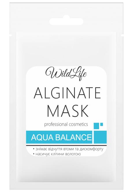 Маска альгинатная Aqua balance, 25 г, WildLife
