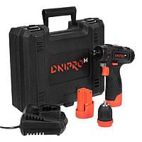 Аккумуляторная дрель-шуруповёрт Dnipro-M CD-121Q