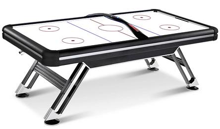 Ігровий стіл аерохокей Titan Air Hockey - 214 x 120 x 81 см, з LED підсвічуванням ігрового поля, фото 2