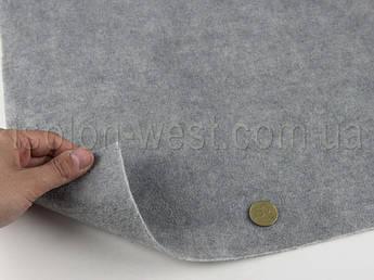 Карпет автомобильный Lux светло серый, толщина 3.0 мм, шир. 1.40м, плотность 400 г/м2