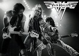 Плакат Van Halen