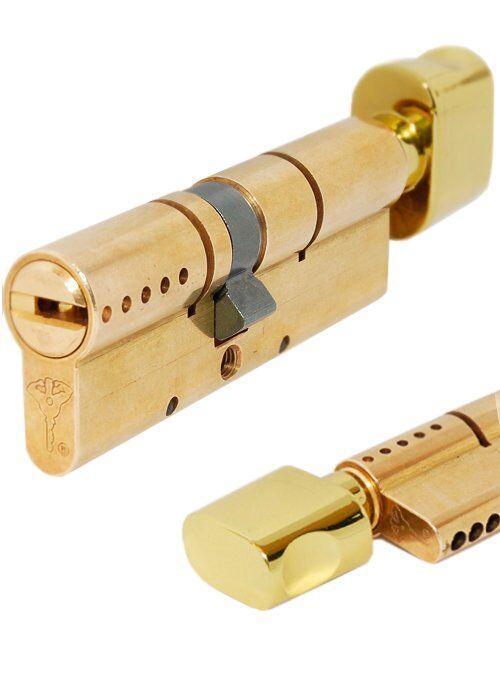 Цилиндр MUL-T-LOCK INTERACTIVE + 85 мм (40х45Т) ключ-тумблер латунь