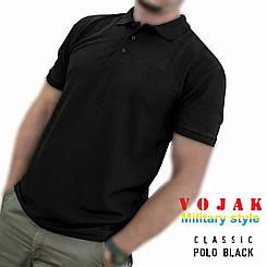 """Поло - тенниска """"CLASSIC"""" BLACK"""