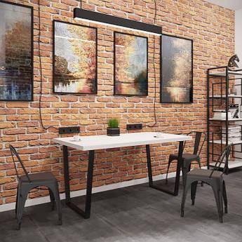 Стол обеденный Бинго оверлайт 80х80 Металл-дизайн