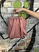 Женский повседневный рюкзак Kanken Mini, пудровый, фото 7