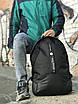 Качественный мужской рюкзак из кожаным дном, фото 4