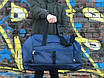 Большая дорожная сумка, синяя (60 л.), фото 2