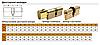 Цилиндр MUL-T-LOCK INTEGRATOR 100 мм (60Тx40) ключ-тумблер, фото 4