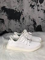 Мужские кроссовки Adidas Yeezy Boost 350 V2 White Cream (Белый)
