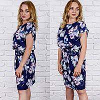 Платье летнее в цветочек, нежное, размеры 44,46, 48, 50 ,52, от производителя
