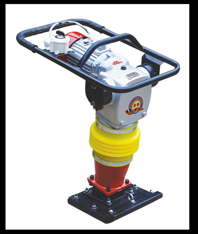 Вибротрамбовка электрическая HCD-110. Вибронога