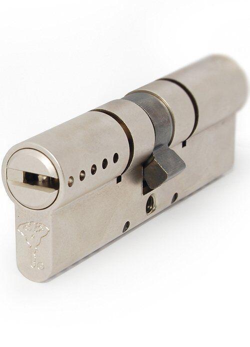 Цилиндр MUL-T-LOCK INTERACTIVE + 110 мм (55x55) ключ-ключ матовый хром