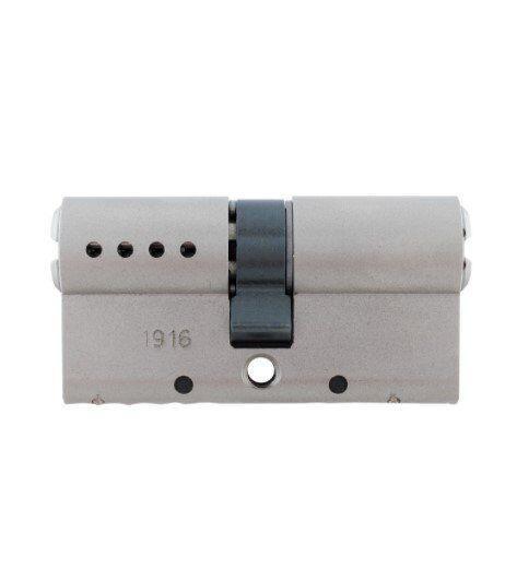 Цилиндр MUL-T-LOCK CLASSIC 115 мм (35x80) ключ-ключ матовый хром