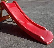 Горка пластиковаяHapro красная 120 см