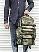Качественный тактический рюкзак (40 л) камуфляж, фото 4