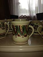 Горнятко керамічне ручної роботи (Косівський розпис)