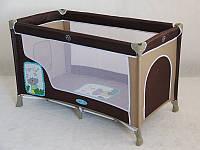 Детский манеж-кровать Baby Tilly 016 с боковым лазом