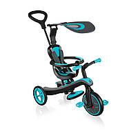 Велосипед-беговел Globber Explorer Trike 4in1 Teal (бирюзовый)