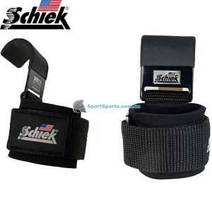 Гаки для тяги на зап'ястя SCHIEK Power Lifting Hooks 1200 (пара)