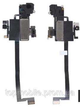 Шлейф для iPhone X, с датчиком приближения, с динамиком, с микрофоном, оригинал (Китай)