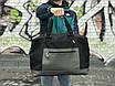 Качественная дорожная сумка, черная сумка, фото 2