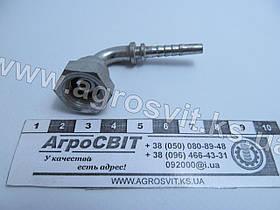 """Ниппель DKR 1/4""""-19 (под шланг dу=05 мм.) (угол 90 °)"""