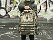Надежный мужской рюкзак среднего размера с отделением для ноутбука, фото 3