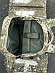 Надежный мужской рюкзак среднего размера с отделением для ноутбука, фото 4