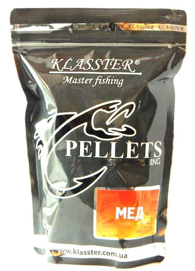 KLASSTER прикормочный пеллетс Мед, гранула 4мм, 500г.