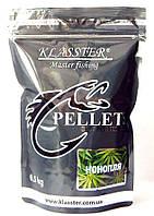 Прикормочный пеллетс KLASSTER Конопля, гранула 4мм, 500г.