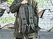Качественный тактический рюкзак (40 л) хаки, фото 4