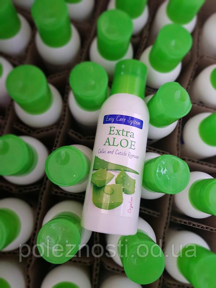 Extra Aloe 100 ml, комплект 49 штук ОптАкция. Гель с экстрактом алоэ вера для необрезного маникюра и педикюра