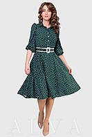 Стильное и легкое платье в горошек для милых девушек.Разные цвета