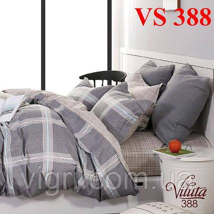 Постельное белье евро комплект, сатин, Вилюта «Viluta» VS 388, фото 2