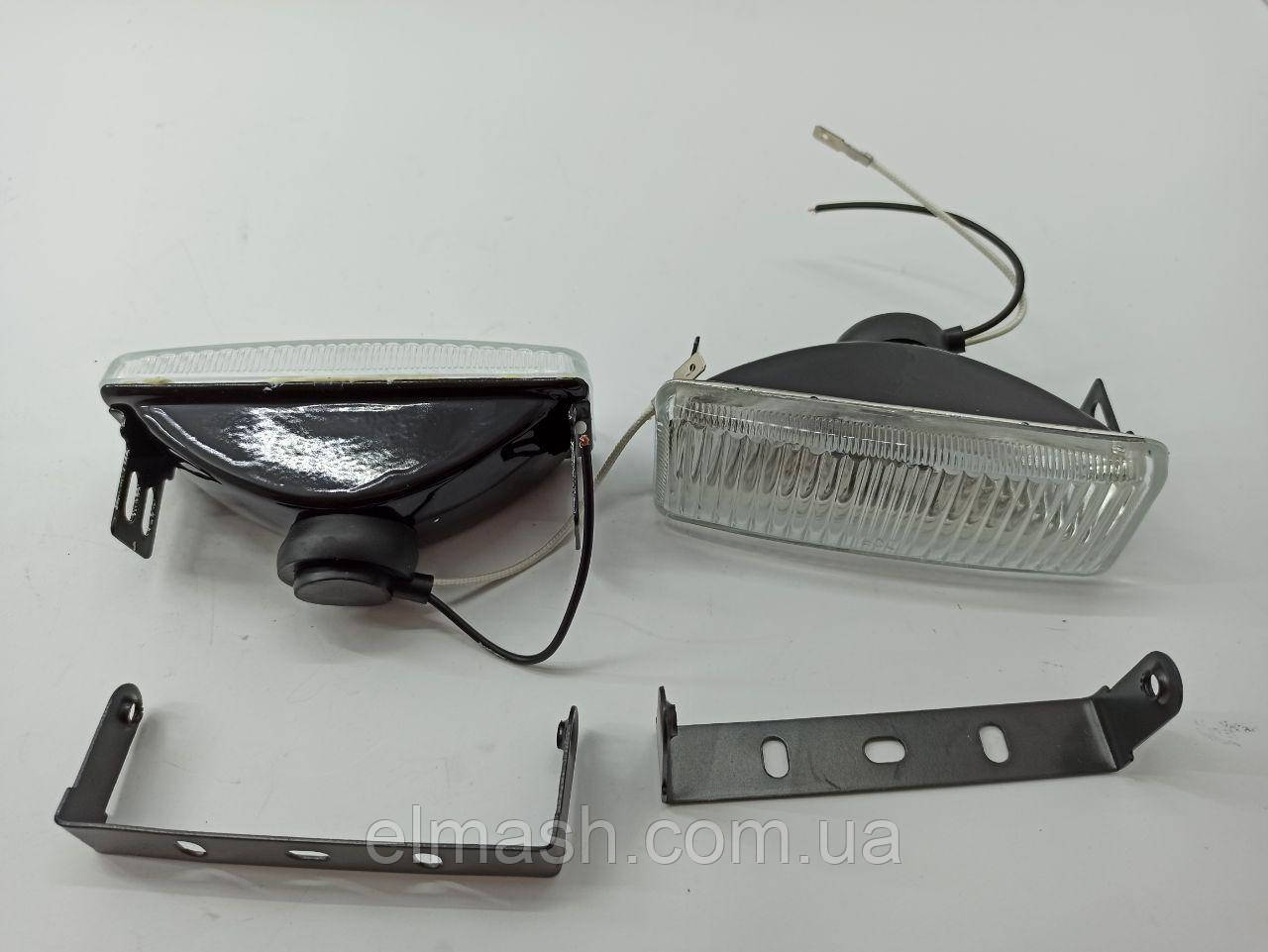 Фары дополнительные белые, H3/12V/55W,128*45mm