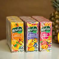 Riviva – полезные детские соки в удобной упаковке