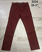Подростковые котоновые брюки для мальчиков C-IN-C оптом, 26-31 рр. Артикул: 3004