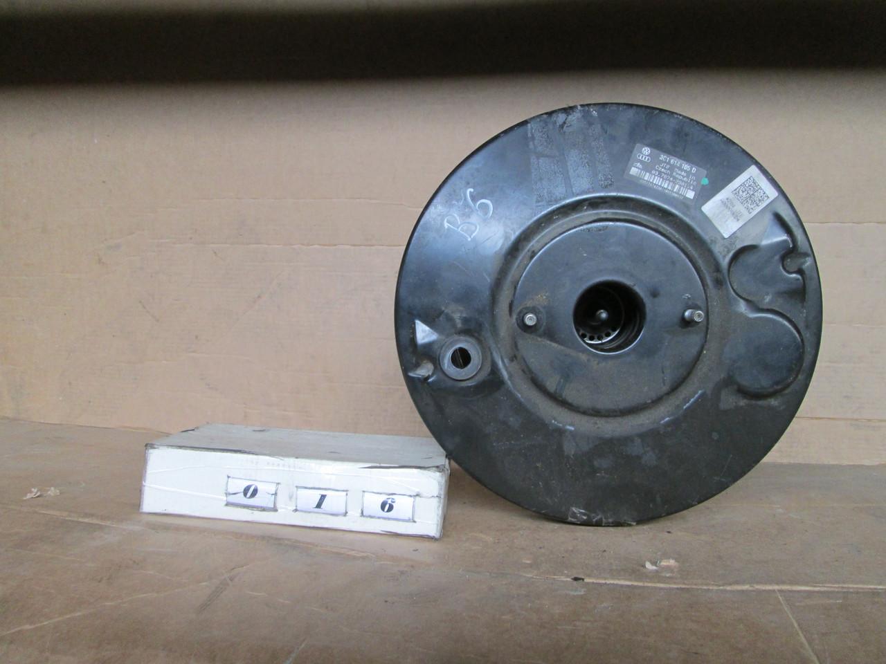 №16 Б/у  Вакуумный усилитель тормозов 3C1614105D для  VW Passat B6 2005-2010