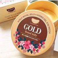 Гидрогелевые патчи для глаз с золотом и маточным молочком Petitfee&Koelf Gold & Royal Jelly Eye Patch