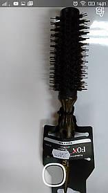 Щетка для укладки FОX  EXPERT деревянная щетка, натур щетина ф25мм арт1509354